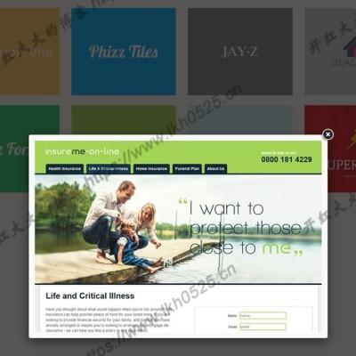 jQuery+CSS3全页图片画廊